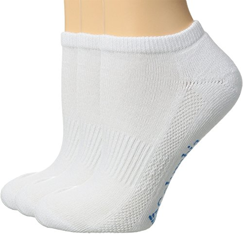 - Columbia Womens Athletic No-Show Socks, 3 Pack (White)Sock Size 9-11