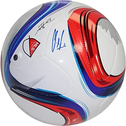 46976a93175 Image Unavailable. Image not available for. Color  Clint Dempsey Steiner  Signed 2015 MLS Soccer Ball