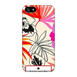 New Kate Spade Fashion Pattern Tpu Skin Case Compatible With Iphone 5/5s