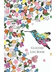 Glucose Log Book: Your Glucose Monitoring Log - Record 2 years blood sugar levels (before & after) Professional Diabetic Glucose Log Book