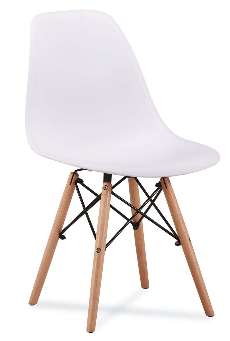Stuhl Amarettomodern Esszimmerstuhl Küche Büro Bürostuhl 10 (Weiß)