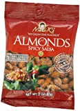 Madi K's Spicy Salsa Almonds, 2-Ounce Bags (Pack of 36)
