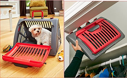 (COLLAPSIBLE PET CAT DOG CARRIER FOLDAWAY)