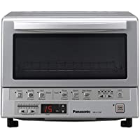 Panasonic NBG110P FlashXpress Toaster Oven with Double Infrared Heating (Silver)