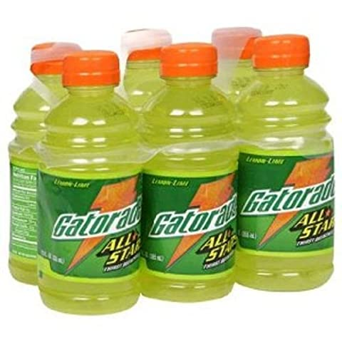 Gatorade All Star Lemon Lime Flavor, 12-Count (Pack of 2)