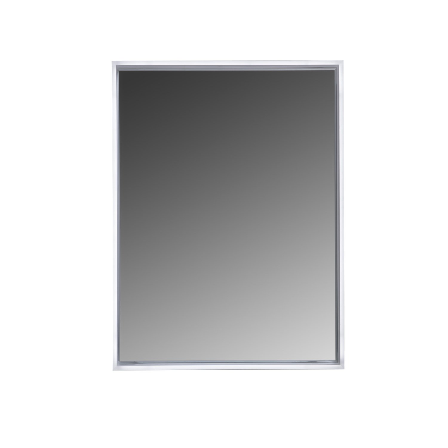 MAYKKE Avery 32'' W x 24'' H LED Mirror, Wall Mounted Lighted Bathroom Vanity Mirror, Frameless Mirror, Horizontal or Vertical Mirror with LED Lighting Border UL Certified, LMA1024101