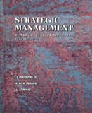 img - for Strategic Management, Combined (Dryden Press Series in Management) by J. Bourgeois (1998-12-28) book / textbook / text book
