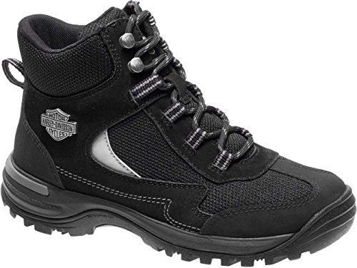 Harley-Davidson Women's Waites CT Industrial Shoe, Black, 10 Medium US by Harley-Davidson (Image #1)