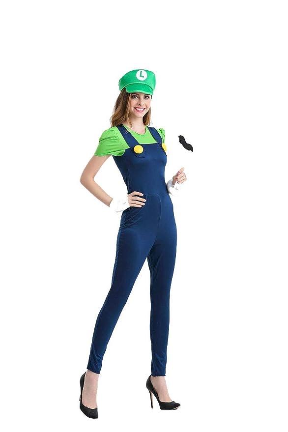 Ninimour Halloween Damen Mario Kostüme Wwwgenialfotocom