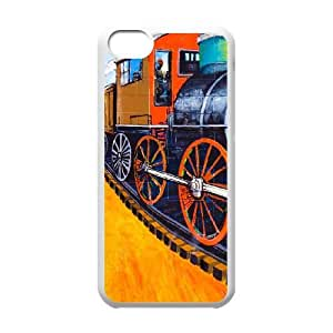iPhone 5c Cell Phone Case White Stealing Time SUX_106326