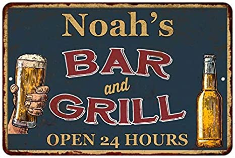 Amazon Com Chico Creek Signs Noah S Green Bar And Grill