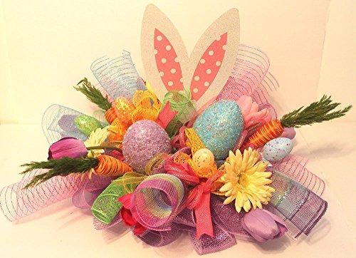 Easter-arrangement-deco-mesh-arrangement-spring-arrangement-easter-centerpiece-Easter-dcor-Easter-decoration-spring-dcorhome-dcor