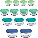 26 Piece Anchor Hocking Glass Food Storage Containers