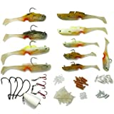 Mighty Bite 5-sense Soft Plastic Fishing Lures/baits kits System Hook inside Freshwater/saltwater Fishing BQ11
