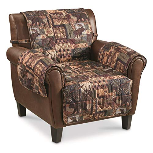 Castlecreek Lodge Furniture Covers with Straps, Loveseat (Decor Furniture And Lodge)