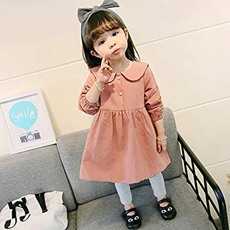 JYJSYMFZ Girls cat Dress 2018 Spring New Princess Dress 18 Months to 5 Years Old,