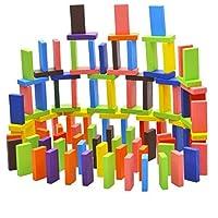 SONONIA  木製 240個 12色 知育玩具 ドミノゲーム 親子プレー 眼と手の能力を訓練 贈り物の商品画像