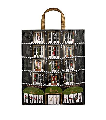 (ハロッズ) Harrods 正規品 トートバッグ ショッピングバッグ 軽量 Sサイズ Mサイズ Lサイズ /Harrods Elevators Shopper /A4,A3 B073M3S4XL  Lサイズ Lサイズ