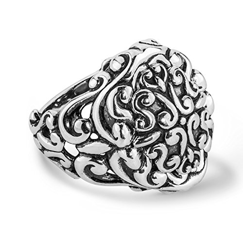 Sterling Silver Magnetic Insert Ring (Magnetic Sterling Silver Ring)