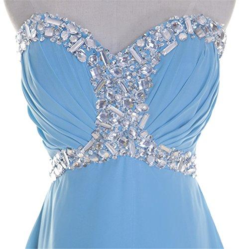 Kleid Fanciest Linie Blue A Damen Cx7Hqwf