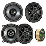 Best Kicker Sound Quality Speakers - 2 Pair Car Speaker Package: 2x Kicker 43CSC5 Review