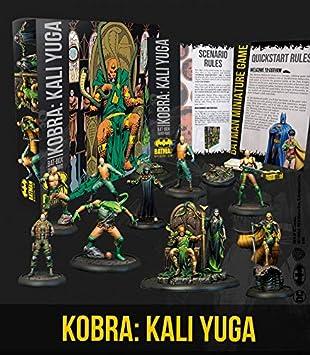 Knight Models Juego de Mesa - Miniaturas Resina DC Comics Superhéroe - Batman Kobra Kali Yuga Bat Box: Amazon.es: Juguetes y juegos