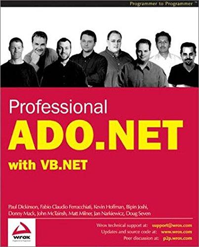 Professional ADO.NET with VB.NET