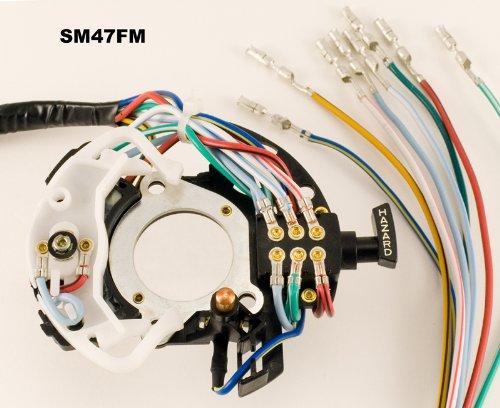 (Shee-Mar SM47FM Turn Signal Switch Ford Truck Van w/ manual trans 1973-1977)