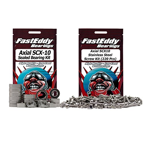 Axial SCX10 Bearing and Screw Kit Combo