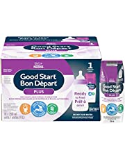 NESTLÉ GOOD START PLUS 1 Baby Formula, Ready-to-Feed, 0+ months, DHA for Brain Development, 250 ml, 16 Pack