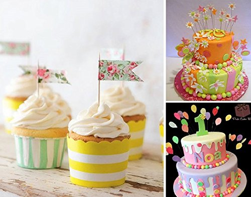 BFY-20-pcs-Pink-Butterfly-Toothpick-Cake-Muffin-Cupcake-Paper-Toppers-for-Birthdays-Weddings-Parties