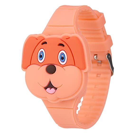 Relojes Infantiles Digitales ,Reloj Infantil Digital Electrónico Nino Niña de Silicona de Moda Dibujos Animados