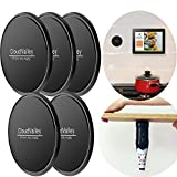 Premium Fixate Cell Pads by CloudValley [5 PACK], Universal Non-slip Mat, Sticky Anti-Slip GEL Pads - Stick to Glass, Mirrors, Whiteboards, Metal, Kitchen Cabinets or Tile, Car GPS and many more