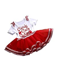 AMA(TM) Toddler Baby Girls Christmas Party New Year Xmas TuTu Dress