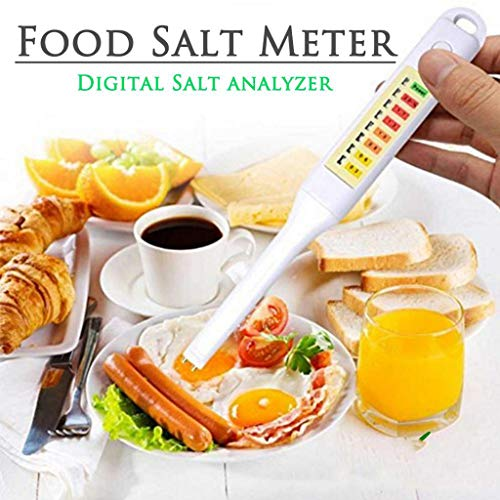 Protector Case Checkers (☀ Dergo ☀ Food Salt Dish Soup Electronic Salinometer Tester Pen Salinity Meter Checker)
