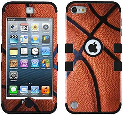 Basketball Armor Hybrid High Impact Case Cover for iPod Touch 5th 6th Gen