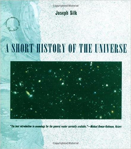A Short History Of The Universe Scientific American Library Joseph Silk  Amazon Com Books