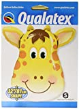 "PIONEER BALLOON COMPANY 16095 Jolly Giraffe Balloon Pack, 32"""