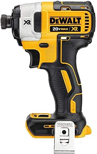 DEWALT DCF887BR 20V MAX XR 1 4in 3-Speed Cordless Impact Driver TOOL ONLY Renewed