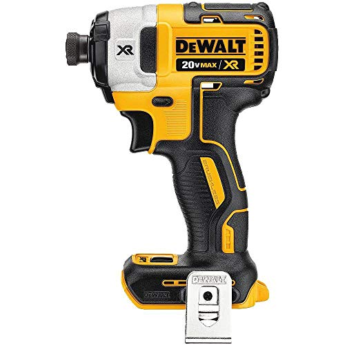 DEWALT DCF887BR 20V MAX XR 1/4in 3-Speed Cordless Impact Driver TOOL ONLY (Renewed) ()