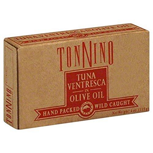 Tonnino Tuna Ventresca In Oil, 4OZ (6PK)
