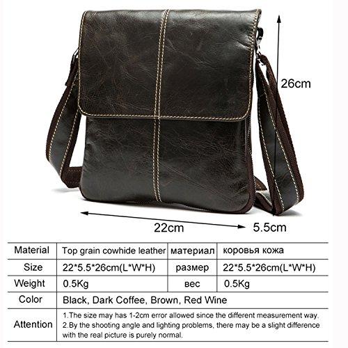 014c2de8bb51 Amazon.com  Genuine Leather Men Bag Fashion Leather Crossbody Bag Shoulder  Men Messenger Bags Designer Handbags Man Bags  Shoes