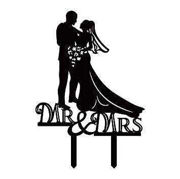 Acme Kuchenaufsatze Hochzeitspaar Mr Mrs Brautpaar Als Tortendeko