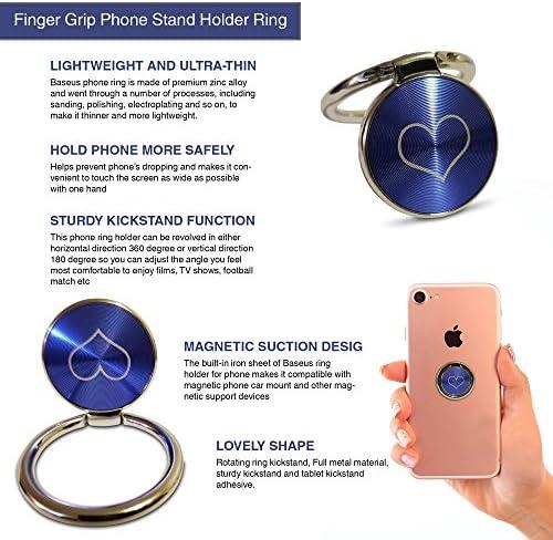 Smartphone RAFXCHANGE Black Universal Phone Ring with Hook for Phones iPad Mobile Phones Tablets