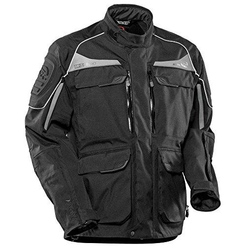 Msr Motorcycle Gear (MSR M15 Alterra Textile Motorcycle Jacket Black (Small))