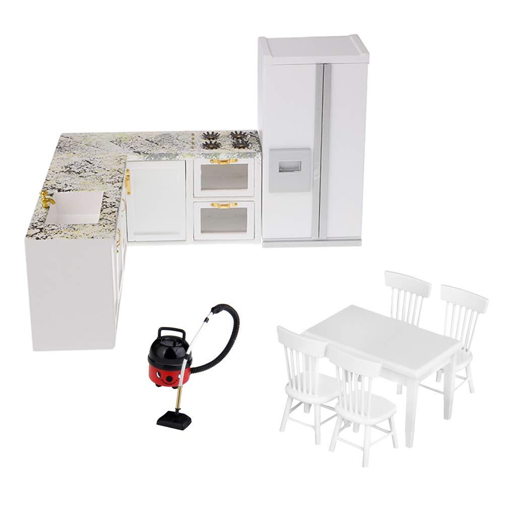 Amazon.es: Baoblaze Modelo de Estufa Refrigerador y Aspirador para ...