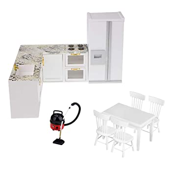 Amazon.es: Sharplace Set de Ultensilios de Cocina Modelo Nevera ...