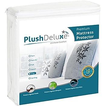 Amazon Com King Premium 100 Waterproof Mattress