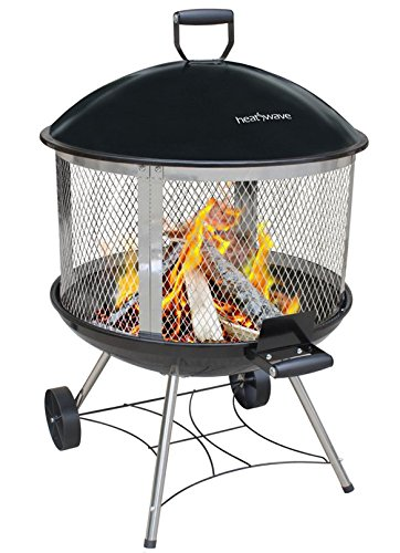 Landmann USA 28051 28″ Heatwave Outdoor Fireplace