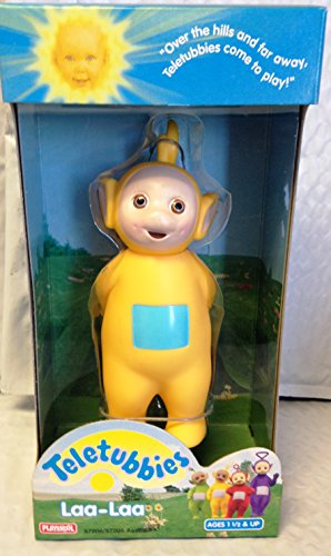 TELETUBBIES PLASTIC LAA-LAA FROM PLAYSKOOL by Playskool (Bear Playskool)